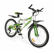 2Cycle Kinderfiets 24 inch Snake 18-Speed Groen MTB