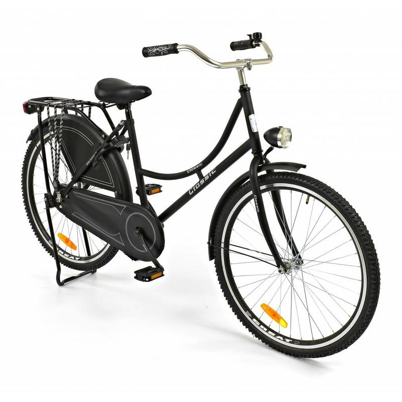 2Cycle Omafiets 26 inch Zwart (2660)
