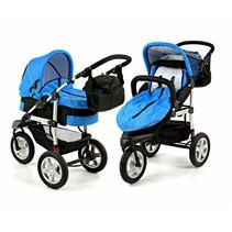 Combi-Kinderwagen Basic Blauw
