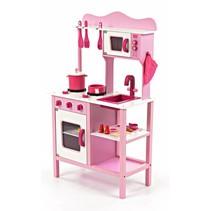 Houten Kinderkeuken Roze
