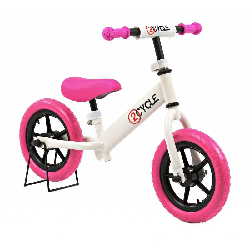 2Cycle 2Cycle Loopfiets Wit-Roze (1359)