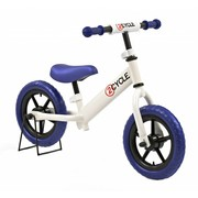 2Cycle 2Cycle Loopfiets Wit-Blauw