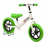2Cycle 2Cycle Loopfiets Wit-Groen