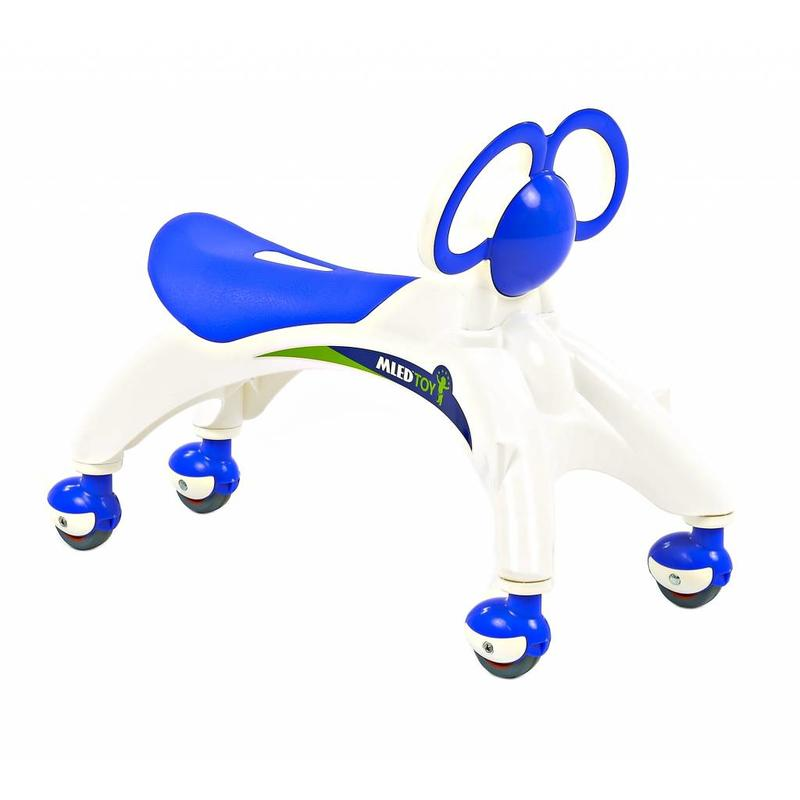 2Cycle Loopauto Vlinder wit-blauw (1393)