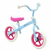 2Cycle Loopfiets blauw-roze