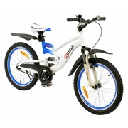 2Cycle Kinderfiets 20 inch Tomahawk Wit-Blauw