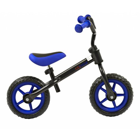 2Cycle Loopfiets Zwart-Blauw (1522)