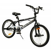 2Cycle Kinderfiets Freestyle Urban zwart
