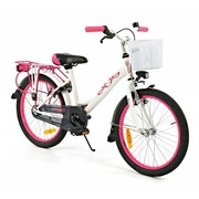 2Cycle Kinderfiets 20 inch City Wit-roze