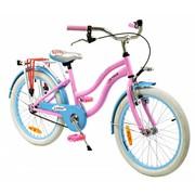 2Cycle Kinderfiets 20 inch Cruiser roze-blauw