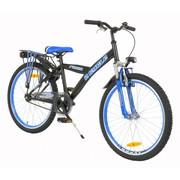 2Cycle Kinderfiets 24 inch jongensfiets Ronin Zwart