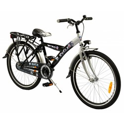 2Cycle Kinderfiets 24 inch Nitro Zwart