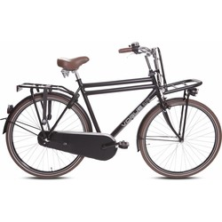Vogue Vogue Elite man transportfiets 28 inch mat-zwart 57 cm 3-speed