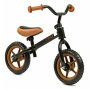 2Cycle Loopfiets zwart bruin