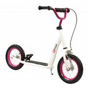 2Cycle Step Wit-Roze met Luchtbanden 12 inch