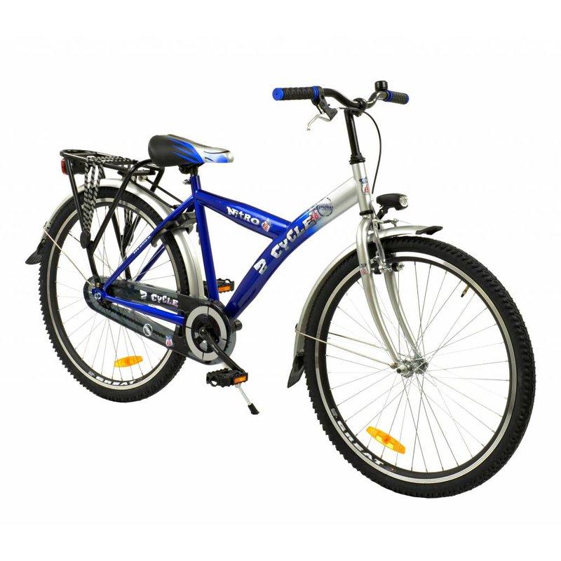 2Cycle Jongensfiets 26 inch Nitro Blauw (2600)
