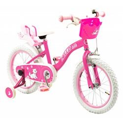 2Cycle Kinderfiets 16 inch Hello Kids met Poppenzitje