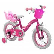 2Cycle Kinderfiets 14 inch Hello Kids met Poppenzitje