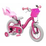 2Cycle Kinderfiets 12 inch Hello Kids met Poppenzitje