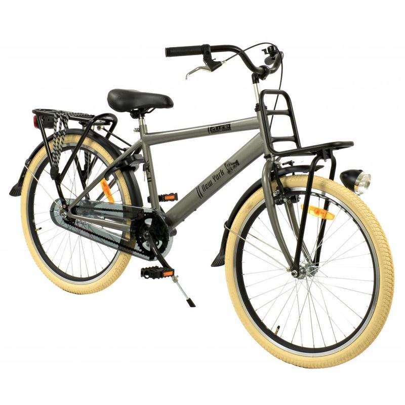 2Cycle Transportfiets 24 inch New-York Grijs (2437)