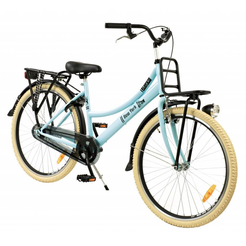 2Cycle Transportfiets 26 inch New York met Voordrager (2672)