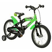 2Cycle Kinderfiets 16 inch MX Groen