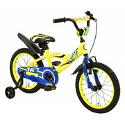 2Cycle Kinderfiets 16 inch BMX blauw-geel