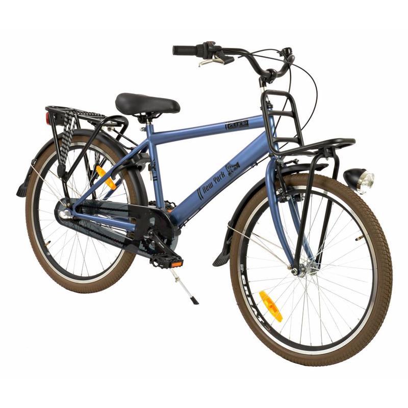 2Cycle Transportfiets 24 inch New-York 3-Speed Blauw (2438)