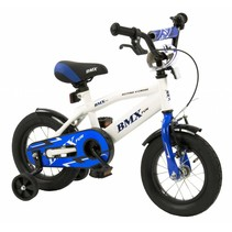 Kinderfiets 12 inch BMX Wit