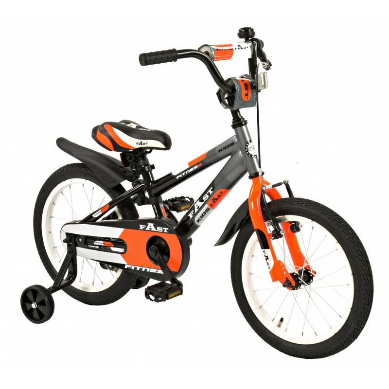 2Cycle Kinderfiets 16 inch 2Cycle Fast (1637)