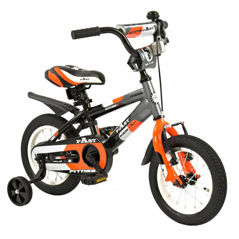 2Cycle Jongensfiets 12 inch 2Cycle Fast (1237)