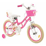 2Cycle Kinderfiets 16 inch Little Poppenzitje