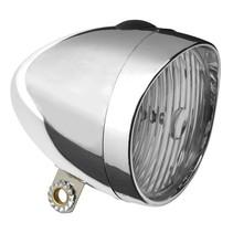 LED Retro Koplamp Chrome