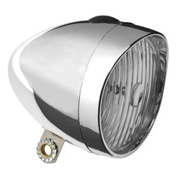 2Cycle LED Retro Koplamp Chrome