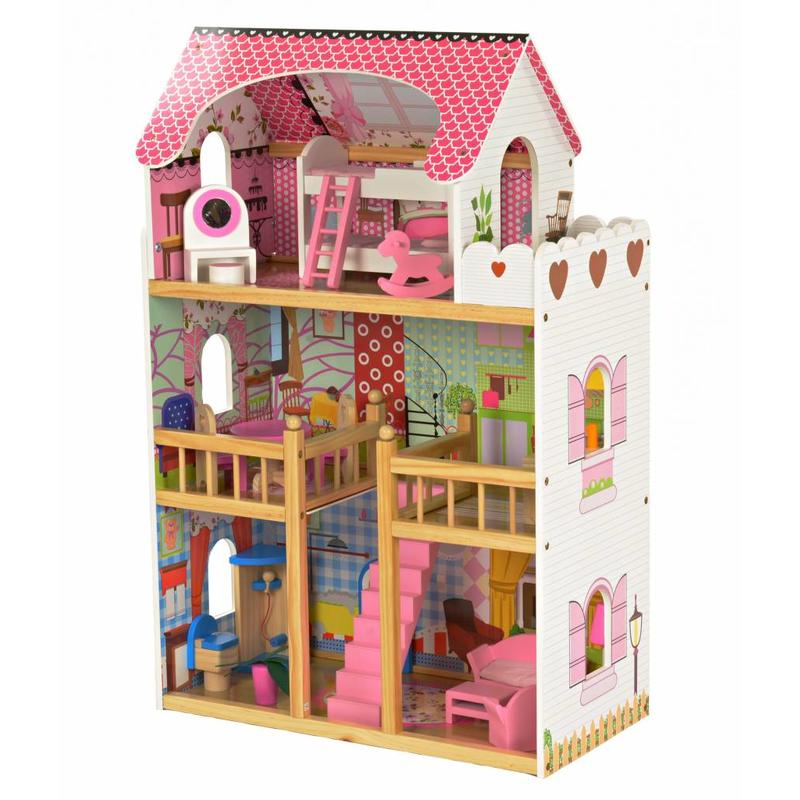 P&M Poppenhuis Princess XL 2017 (1372)