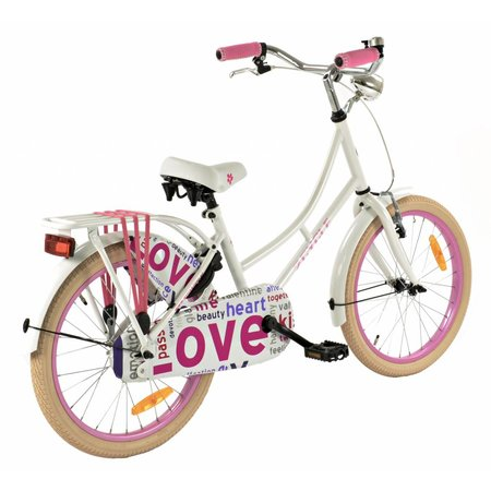 2Cycle Omafiets 20 inch Love (2062)