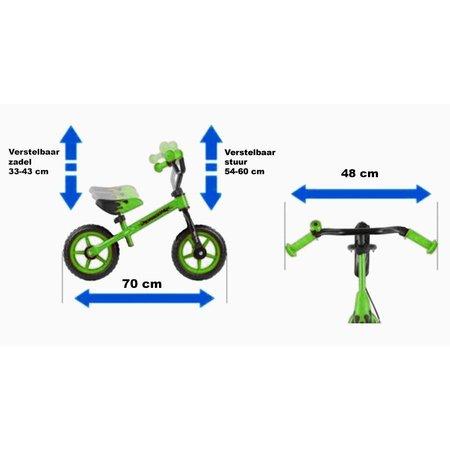 2Cycle Loopfiets Roze Air (1562)