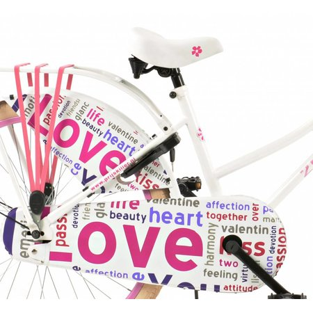 2Cycle Omafiets 24 inch Love (2462)