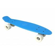 Skateboard Blauw-Wit 22.5 inch