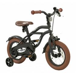 2Cycle Kinderfiets 12 inch Cruiser Mat-Zwart