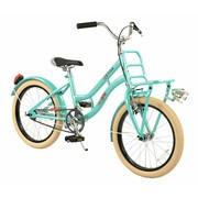 2Cycle Transportfiets 18 inch Turquoise met Voordrager
