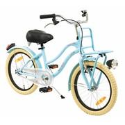 2Cycle Kinderfiets 18 inch Turquoise met Voordrager