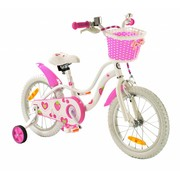 2Cycle Kinderfiets 16 inch Strawberry