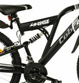 2Cycle Mountainbike 26 inch Cobra Mat-Zwart 18-speed (2614)