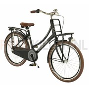 Vogue Transportfiets 24 inch 3-speed mat-zwart