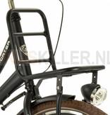 Vogue Transportfiets 24 inch 3-speed mat-zwart met Voordrager (1020462)