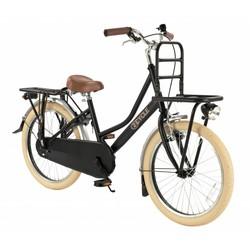 2Cycle Transportfiets 20 inch mat-zwart