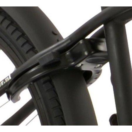 2Cycle Jongensfiets 22 inch Cruiser Mat-Zwart (2223)