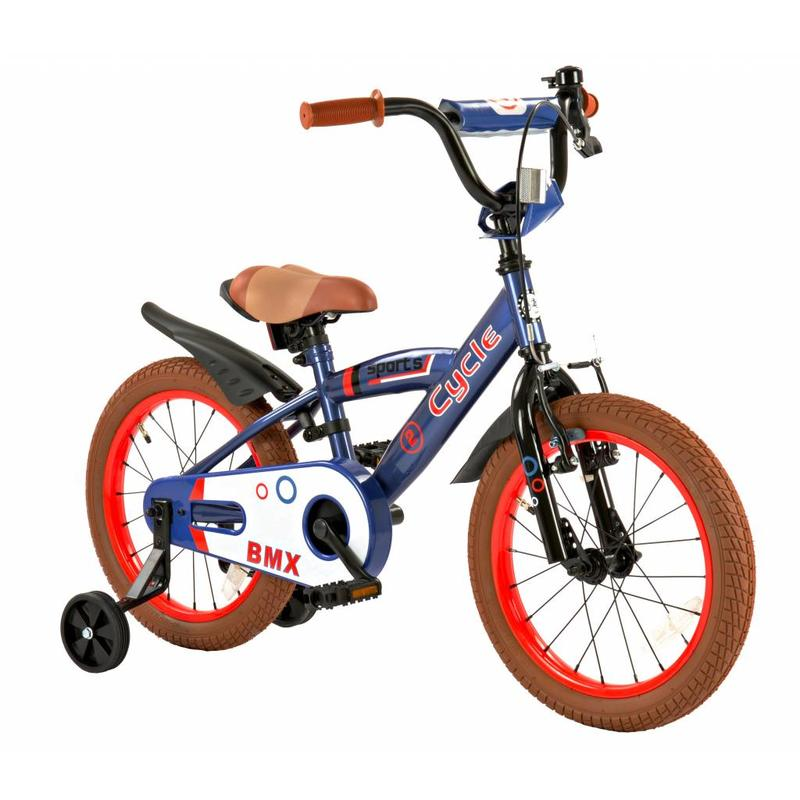 2Cycle Kinderfiets 16 inch 2Cycle Sports (1624)