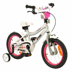 2Cycle Kinderfiets 14 inch PNK